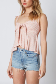 Cotton Candy LA Tie Front Cami - Side cropped