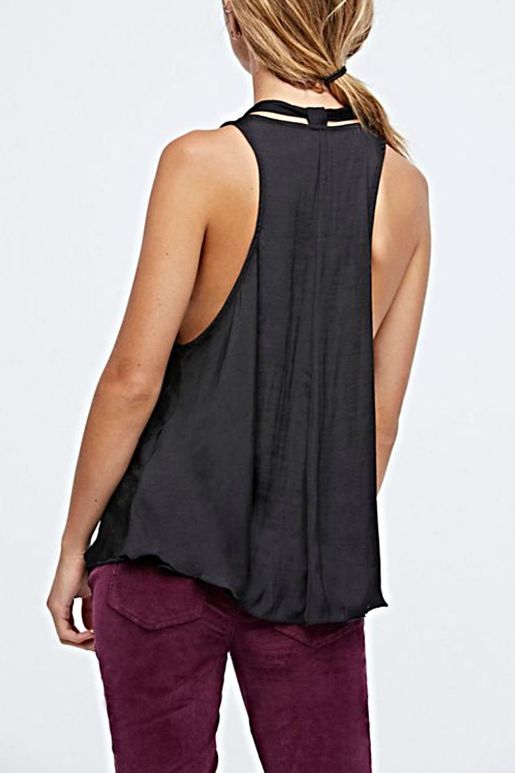 Free People Tie Front Cami - Front Full Image