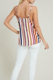 eesome Tie-Front Cami Tank - Back cropped