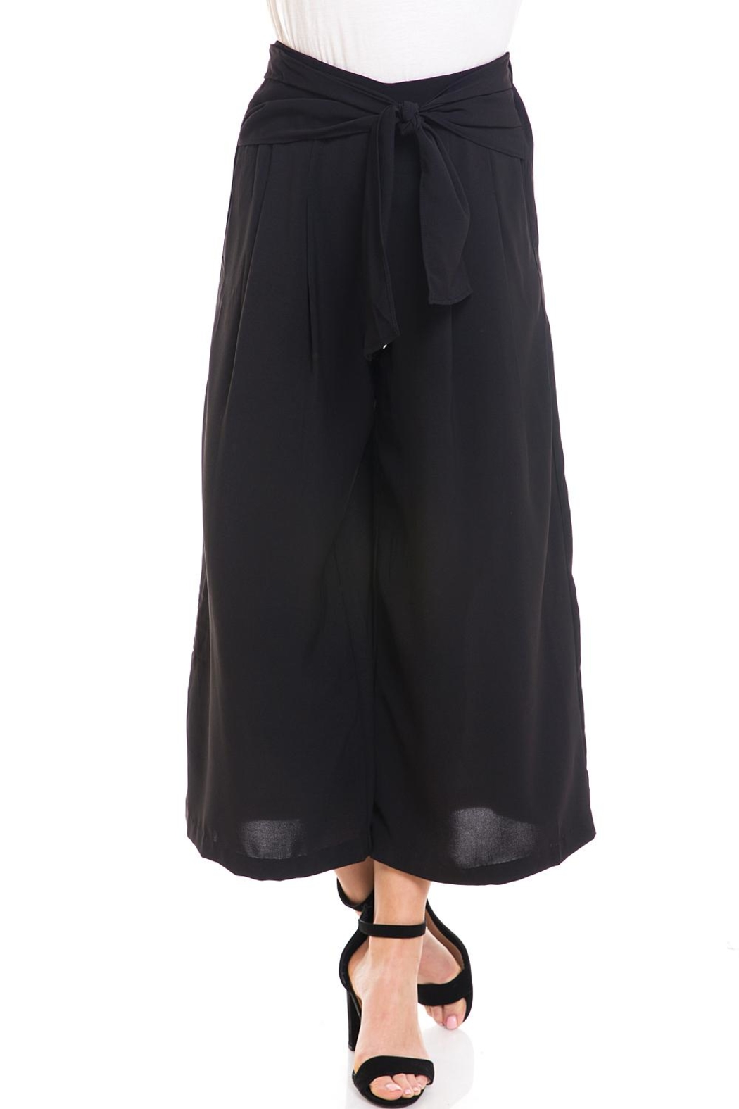 Do & Be Tie-Front Cropped Pants - Main Image