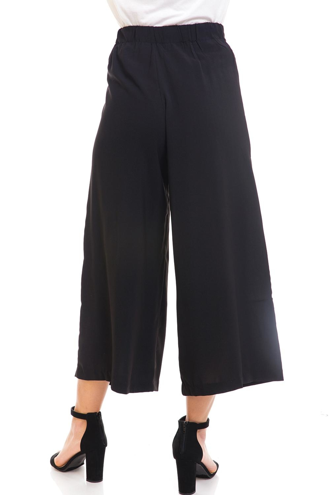 Do & Be Tie-Front Cropped Pants - Back Cropped Image