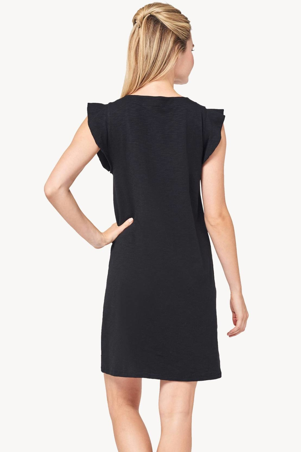 Lilla P Tie-Front Dress - Front Full Image
