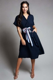 L'atiste Tie Front Dress - Product Mini Image