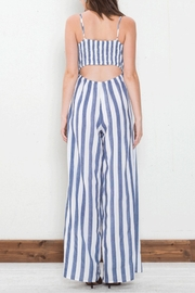 Flying Tomato Tie Front Jumpsuit - Front full body