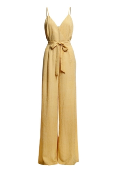 Shoptiques Product: Tie Front Jumpsuit