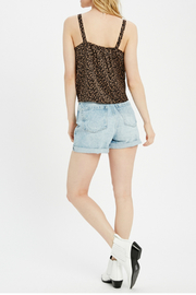 Wishlist Tie front knot top - Side cropped