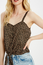 Wishlist Tie front knot top - Product Mini Image