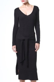 Madonna & Co Tie Front Lbd - Product Mini Image