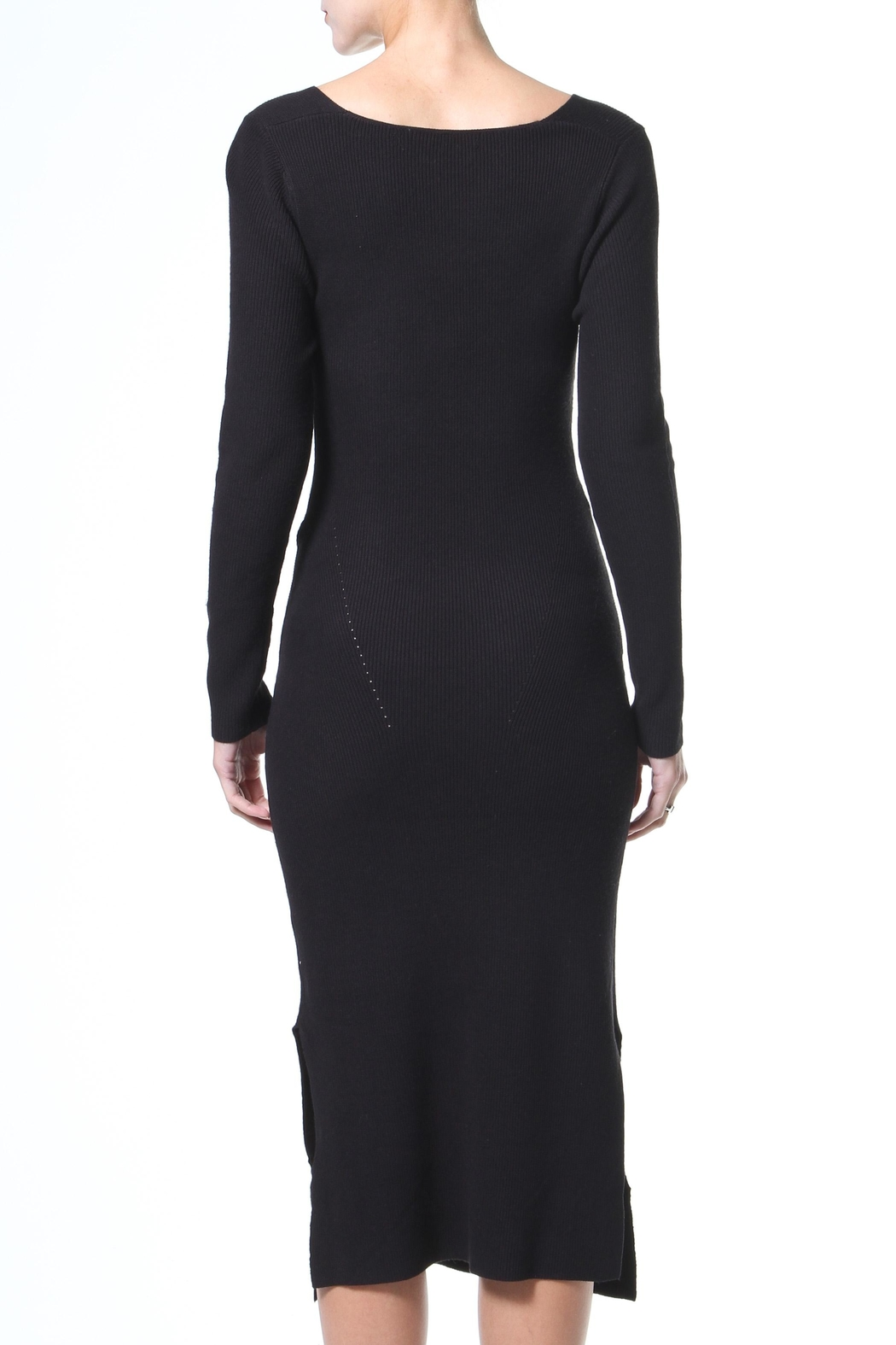 Madonna & Co Tie Front Lbd - Side Cropped Image