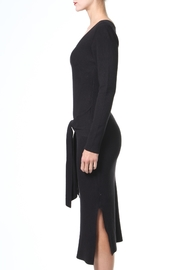 Madonna & Co Tie Front Lbd - Front full body