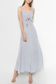 Sensemill Tie Front Maxi - Front cropped