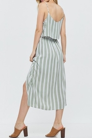 Papermoon Tie Front Midi Dress - Front full body
