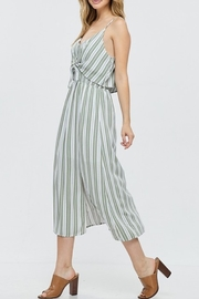 Papermoon Tie Front Midi Dress - Side cropped