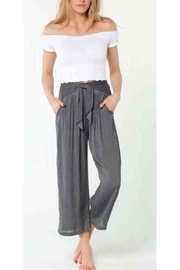 Lucy Love Tie-Front Palazzo Pant - Product Mini Image