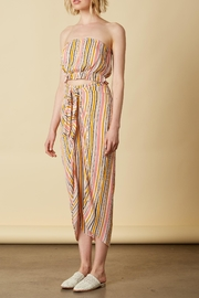 Cotton Candy Tie Front Pants - Front cropped
