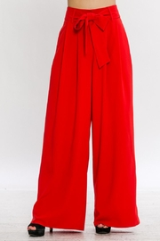 Flying Tomato Tie Front Pants - Product Mini Image