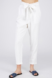 Love Tree Tie Front Pants - Product Mini Image