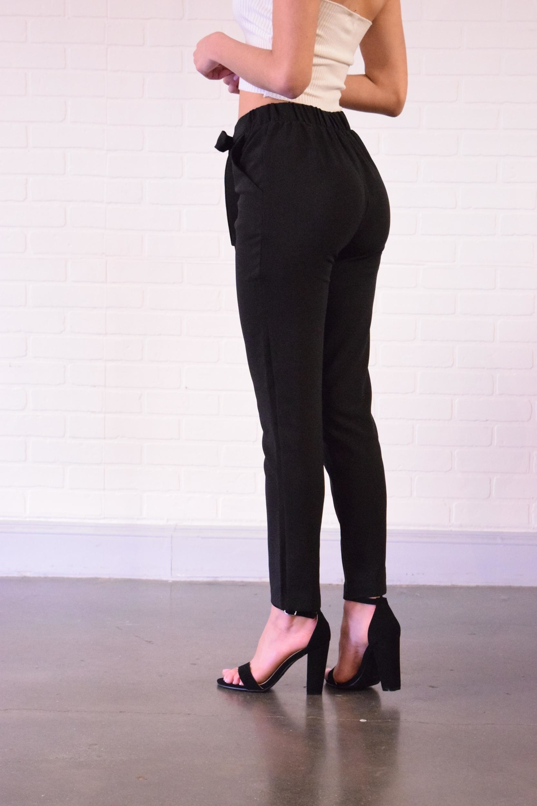 Must Have Tie Front Pants - Front Full Image