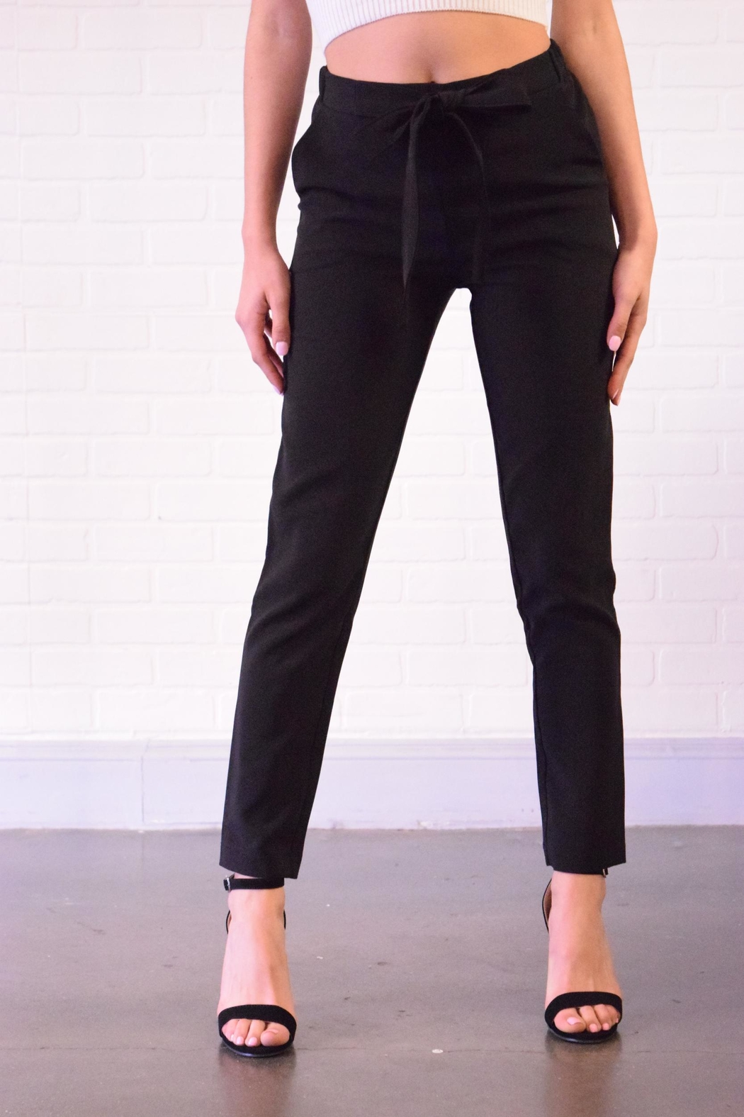 Must Have Tie Front Pants - Main Image