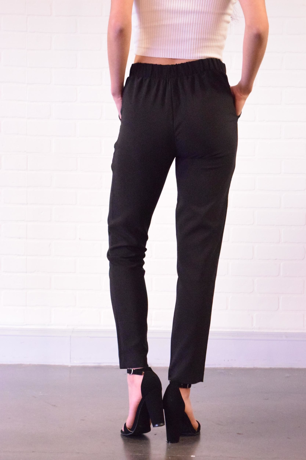 Must Have Tie Front Pants - Side Cropped Image