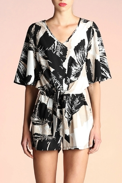 Tyche Tie Front Romper - Product List Image