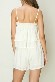 HYFVE Tie front shorts - Side cropped