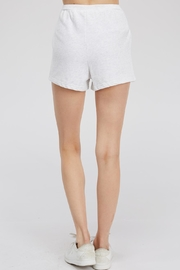 Hey Babe Tie Front Shorts - Back cropped