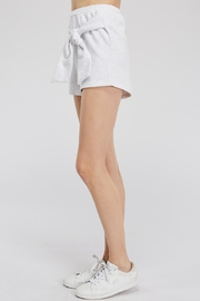 Hey Babe Tie Front Shorts - Side cropped