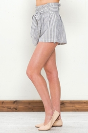 Flying Tomato Tie Front Shorts - Front full body
