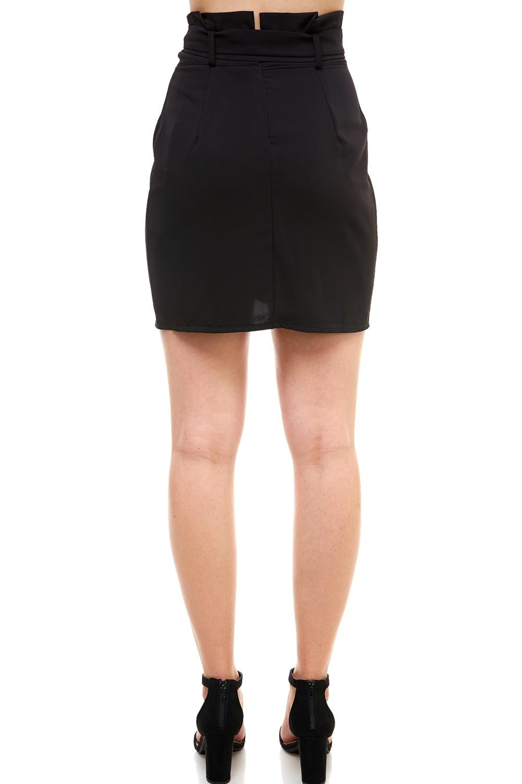 Venti 6 Tie Front Skirt - Side Cropped Image