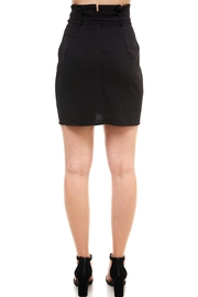 Venti 6 Tie Front Skirt - Side cropped
