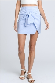 storia Tie Front Skirt - Product Mini Image