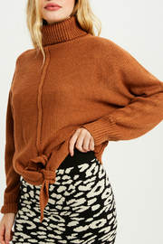 Wishlist Tie front sweater - Front full body