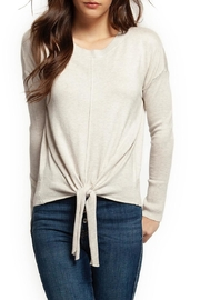 Dex Tie Front Sweater - Product Mini Image