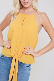 ee:some Tie Front Tank - Front cropped