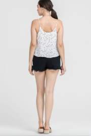 Lush Clothing  Tie Front Tank Top - Front full body