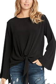 Elan Tie Front Top - Product Mini Image