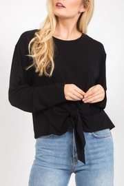 Very J  Tie Front Top - Front cropped