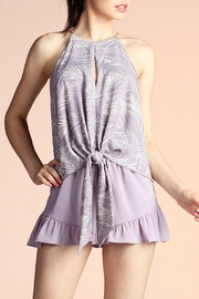 Tyche Tie Front Top - Product Mini Image