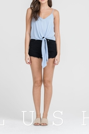 Lush Tie Front Top - Product Mini Image