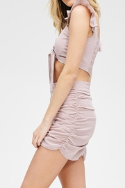 Emory Park Tie Front Top - Side cropped