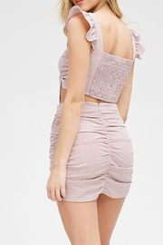 Emory Park Tie Front Top - Back cropped