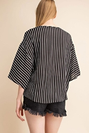 Mittoshop Tie Front Woven-Top - Side cropped