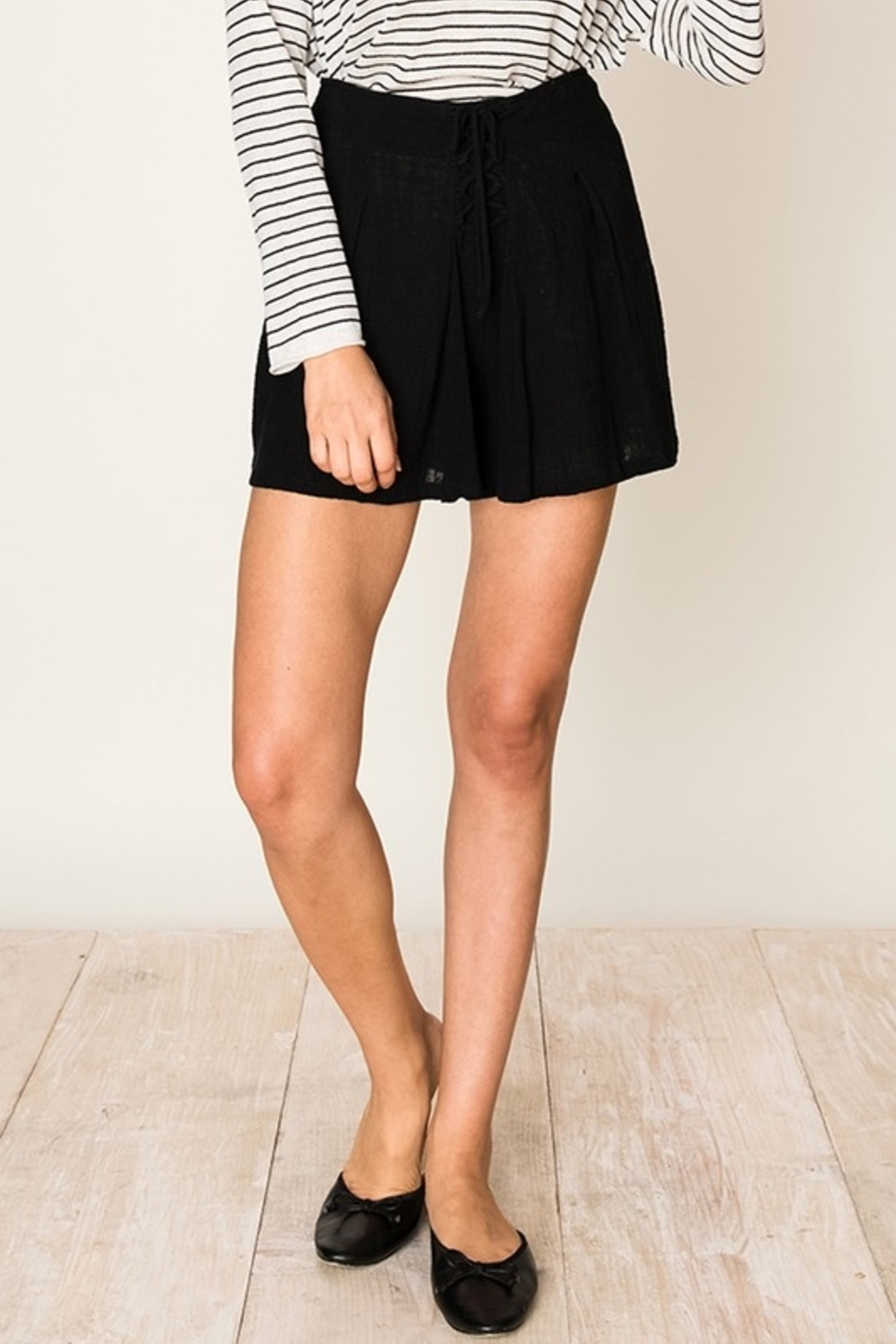HYFVE Tie It Up shorts - Front Cropped Image