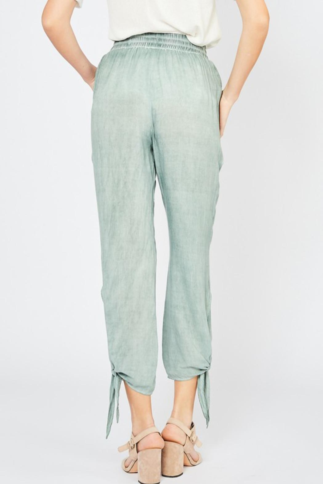 Entro Tie Jogger Pant - Back Cropped Image