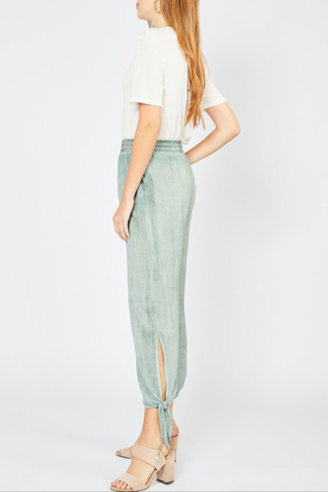 Entro Tie Jogger Pant - Side Cropped Image
