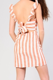 Glamorous Tie Mini Dress - Front full body
