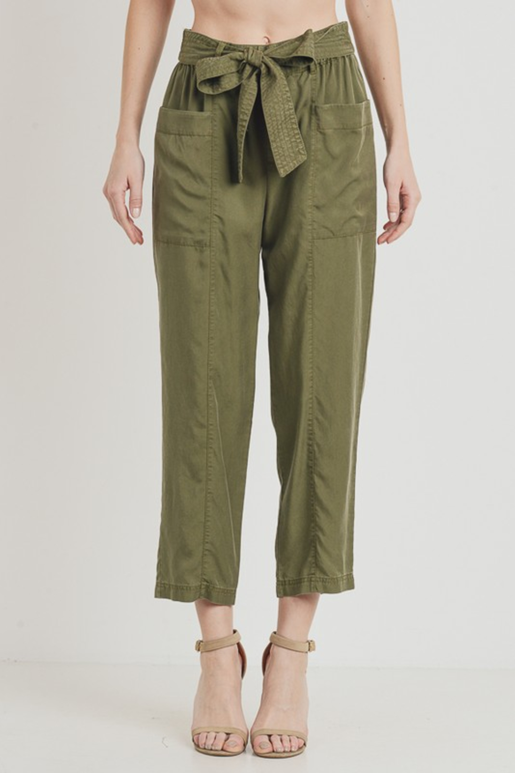 R+D  Tie Pant with Pockets - Main Image