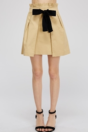 Do & Be Tie Paperbag Skirt - Front cropped