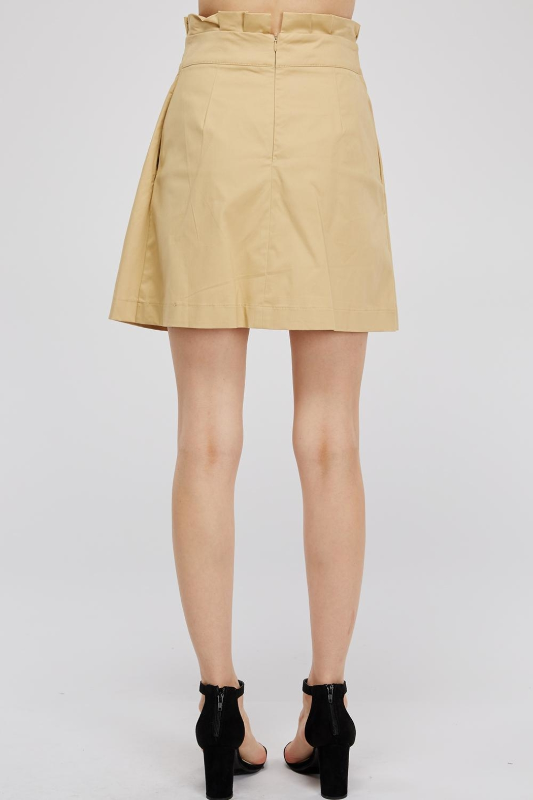 Do & Be Tie Paperbag Skirt - Side Cropped Image